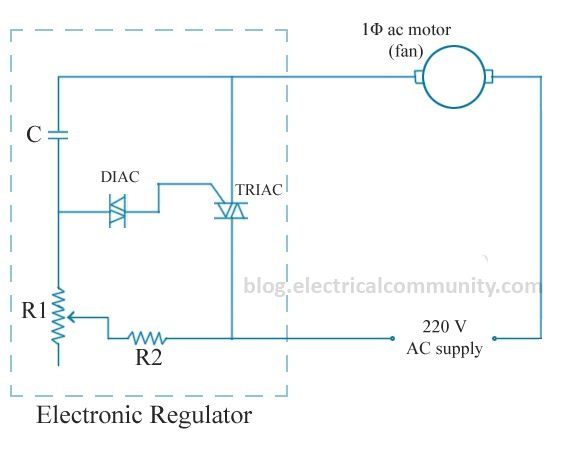 Does a fan regulator burn when connected to a socket quora in this connection full voltage is applied between the twp terminals of the regulator same as when we connect it directly into socket cheapraybanclubmaster Gallery