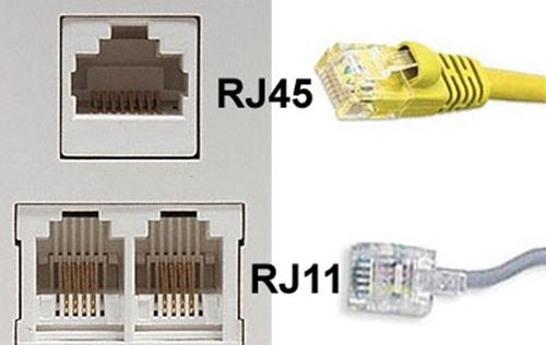 what's the difference between rj11 and rj45 ethernet cables? quora rj11 to usb  pci express wiring diagram