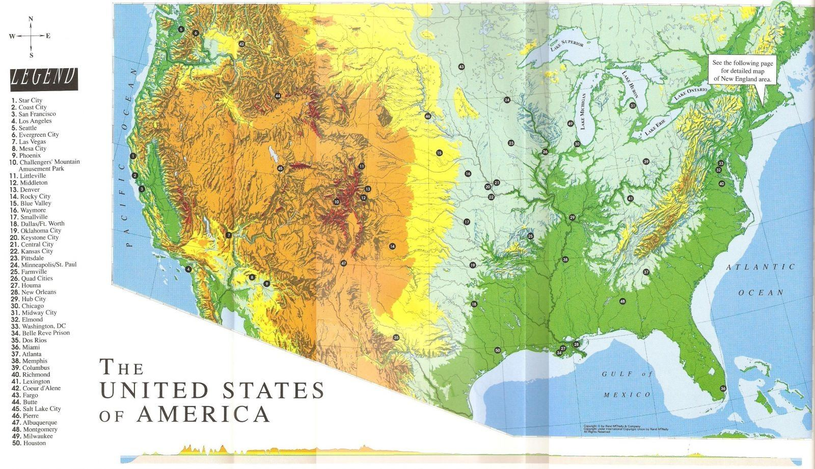What Is The Geography Of America In The Dc Universe Like Quora - Dc-universe-us-map