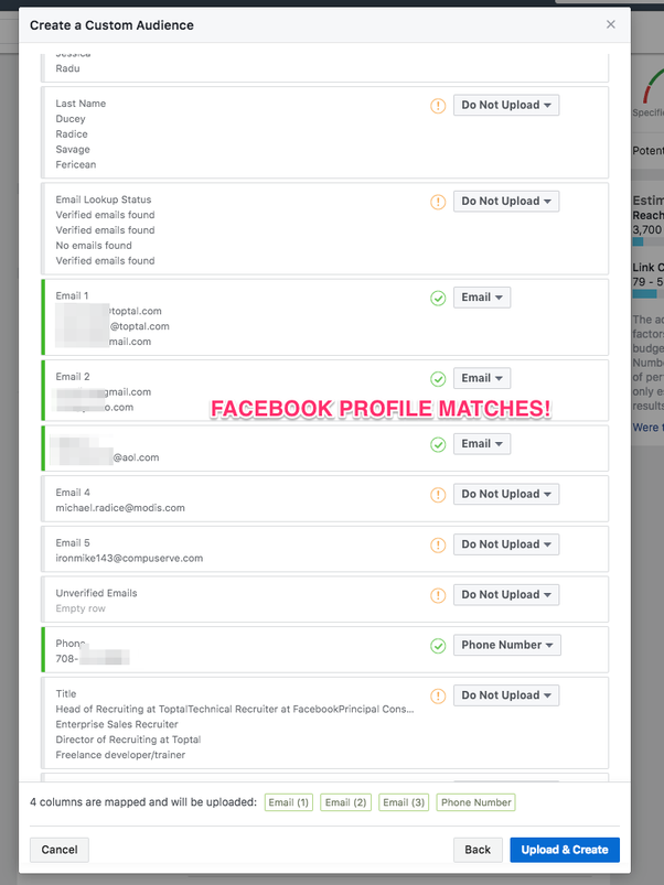 Instead Of Just Making A File Of List Of TopTal Recruiters, I Would Do This  For Every Job And That Way Youu0027re Building The Same Audience On Facebook    And ...