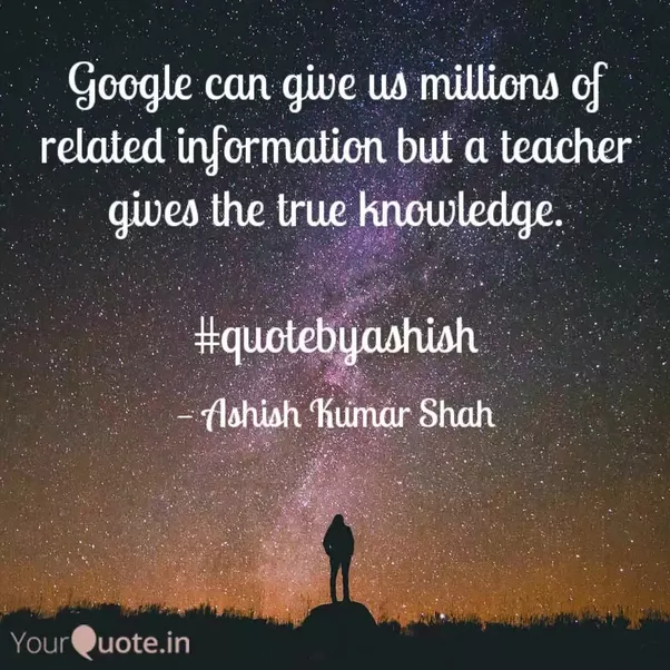 What are some good quotations or sayings on teachers? - Quora