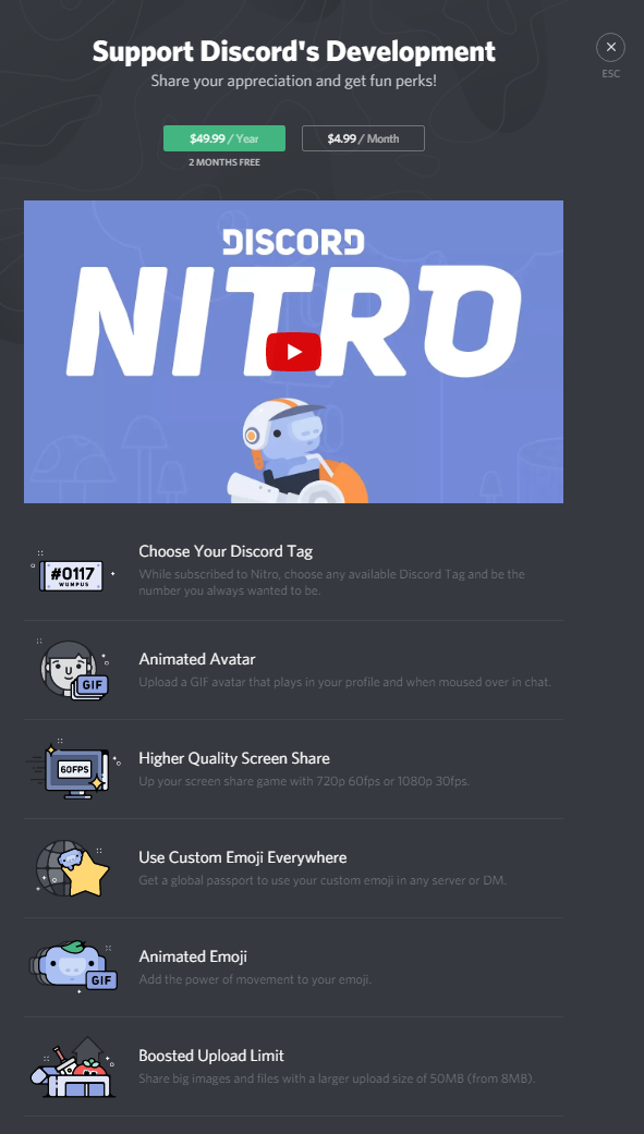 how to send money on discord