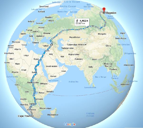 camminare, viaggio lento, viaggiare con lentezza, il cammino piú lungo del mondo, a piedi