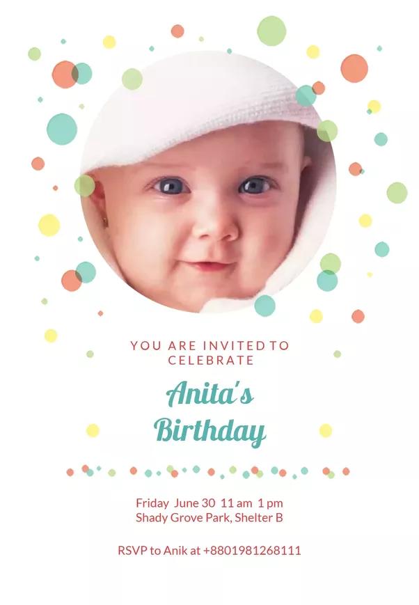 How to create birthday invites for kids quora image source balloon drop kids birthday invitation card filmwisefo