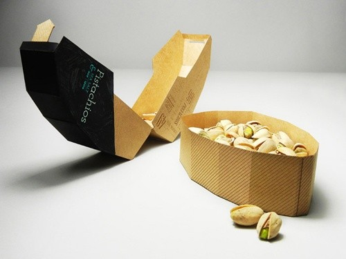 This Incredible Pistachio Packaging Design Was Created By Student Maija Rozenfelde Who Is Still Completing Her Degree In At Pratt