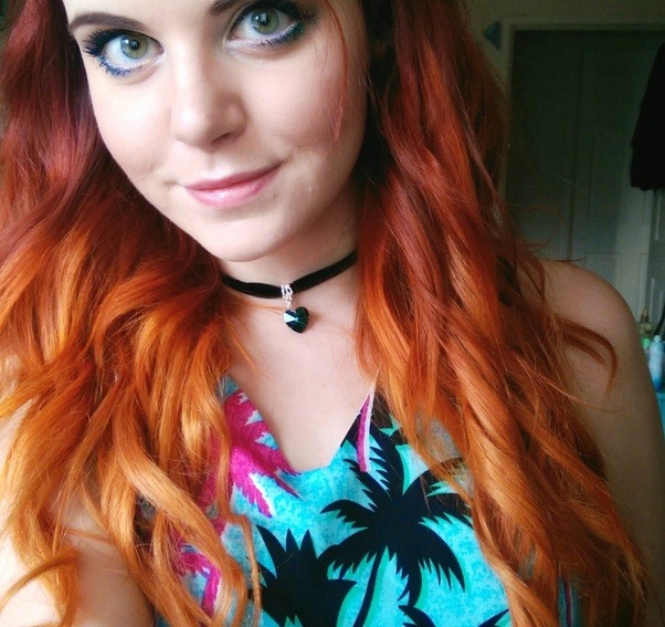 What Colour Should A Ginger Hair Girl Dip Dye Her Hair In A Natural