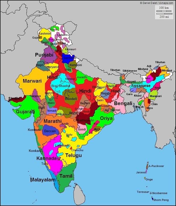 Ethnic Map Of India Is there a dominant ethnic group in India? How do various