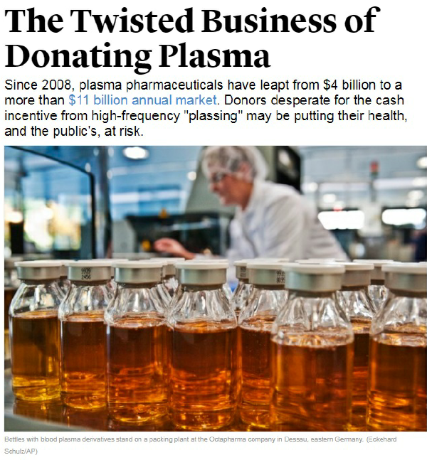 How much do you get to donate plasma? - Quora