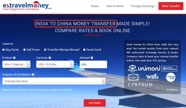 Extravelmoney Is An Online Forex Portal With Rbi Roved Centres Where You Can Transfer Money