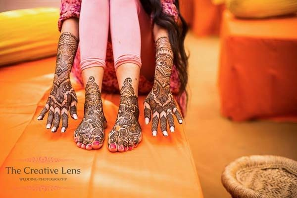Mehndi Traditional Designs : Weddings where i found a good bridal mehndi design quora