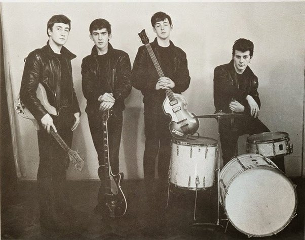 In June 1962 Newly Hired Engineer George Martin Insisted On Replacing Pete Best With Ringo Starr The Rest As They Say Is History