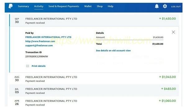 Y a-t-il quelque chose que je devrais savoir à propos de la création d'un compte PayPal avant de chercher un emploi en ligne?