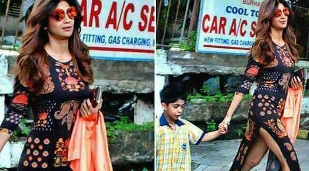 Momen Foto memalukan Artis Bollywood, Shilpa Shetty Malunya Tingkat Dewa