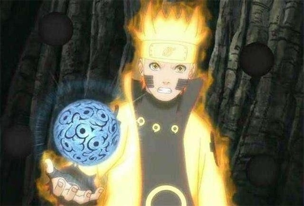A Technique That S Available To Naruto After Inheriting The Sage Of Six Paths By Combining His Rasengan With Shukaku Magnet Release