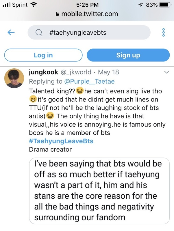 Why are people attacking (BTS) V? - Quora