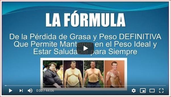 programas de pérdida de peso real