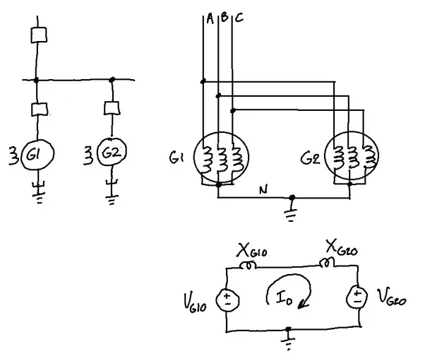 3 Phase Generator Wiring Diagram: What Makes A Neutral Wire Damaged In A Three-phase