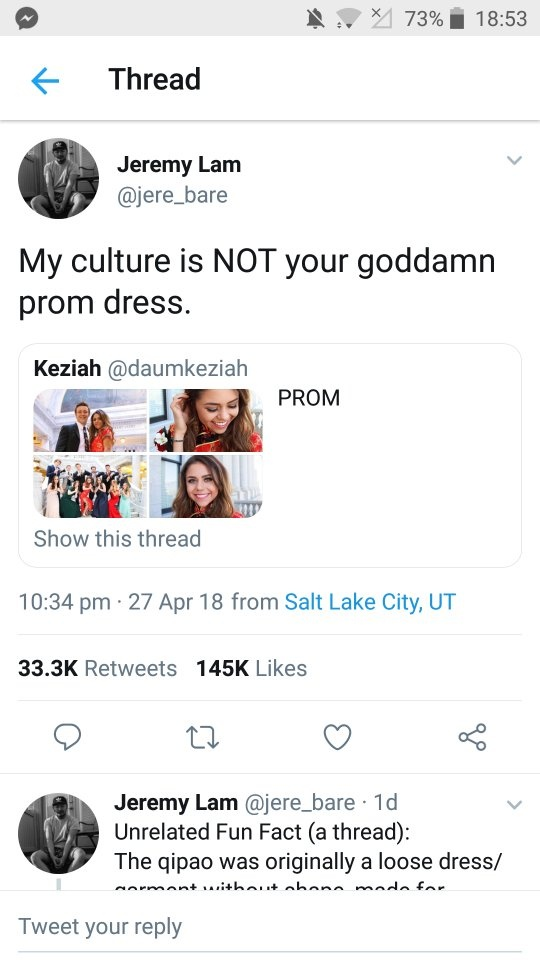 With political correctness now extending to high school prom dresses ...