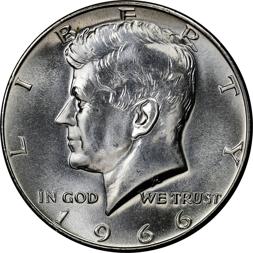 How much is my 1966 silver half-dollar? - Quora