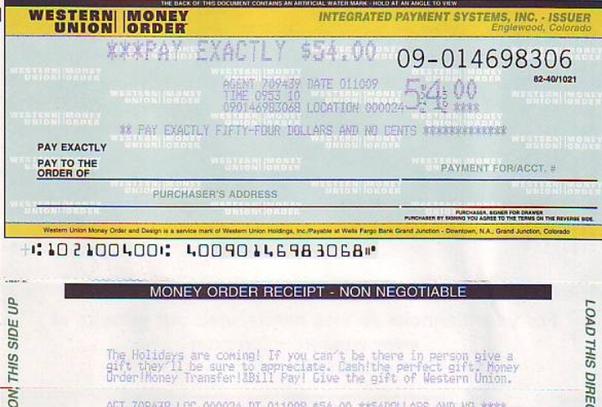deposit money order online bank of america