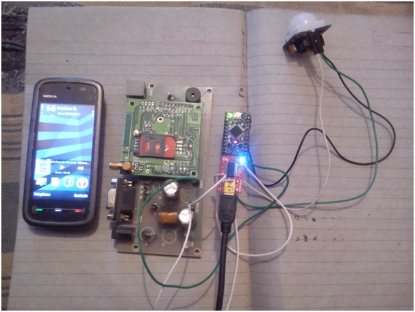 What will be the code in Arduino for making a GSM-based bank locker