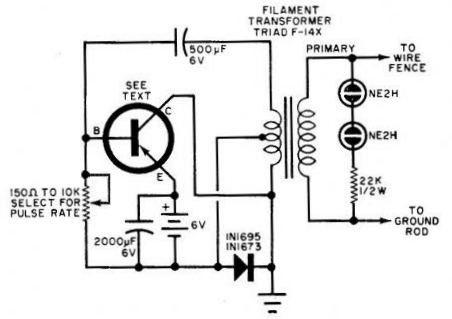 What is an electric fence energizer with a circuit diagram and how ... solar fencing system circuit diagram Quora
