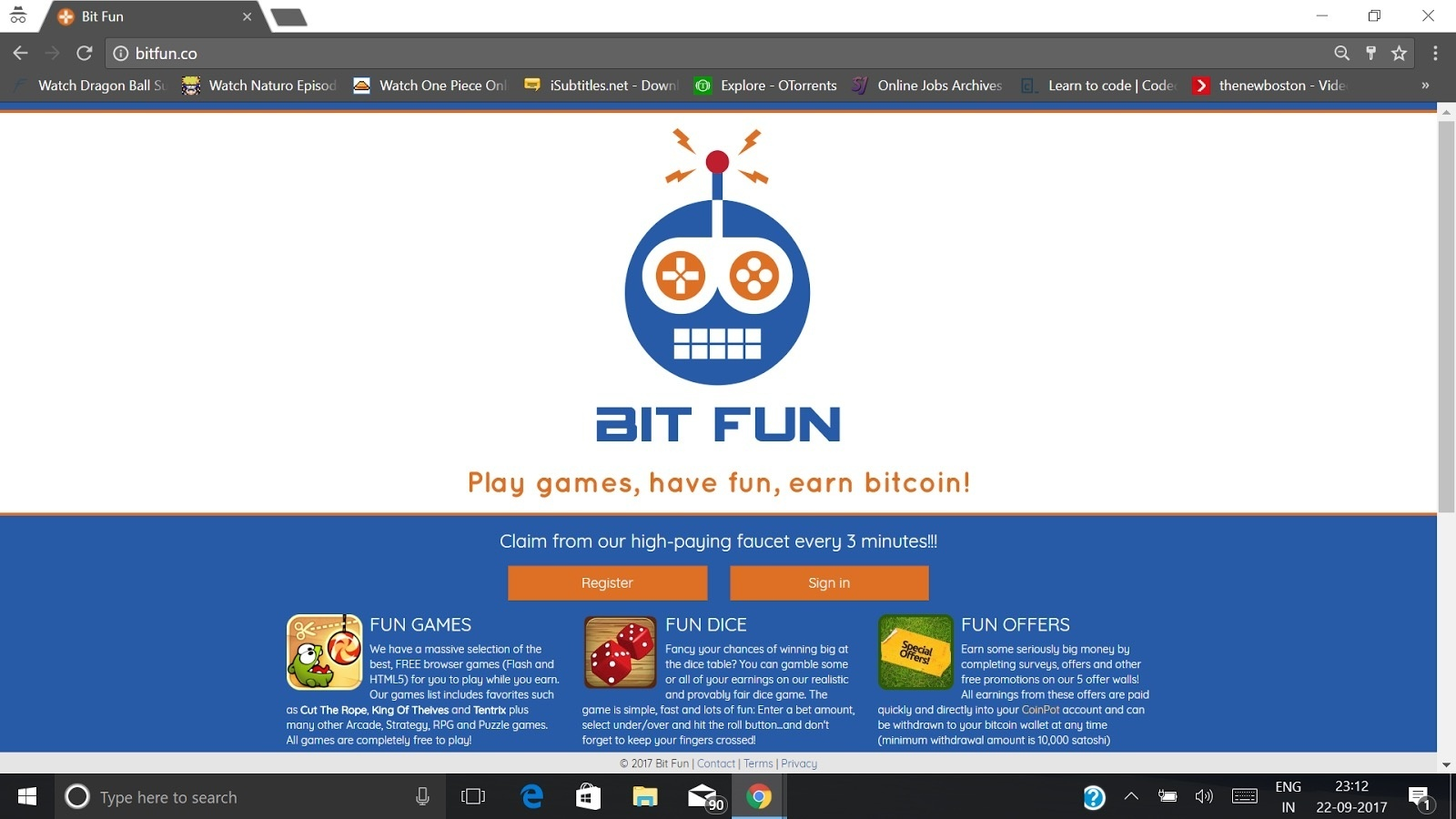 Bit Fun Bitcoin Run Website On Ethereum – NEAT CPH