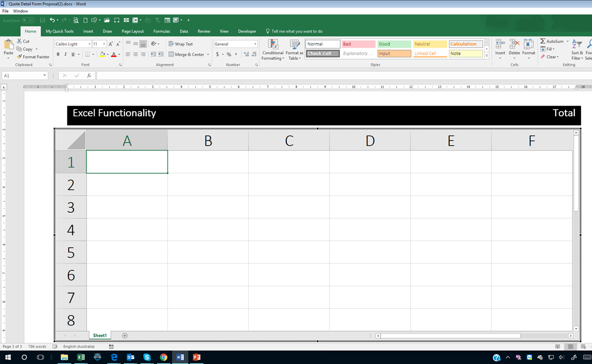 In Microsoft Word, how do you insert Excel like formulas   Quora