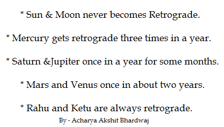What does retrograde Jupiter mean in an individual's chart