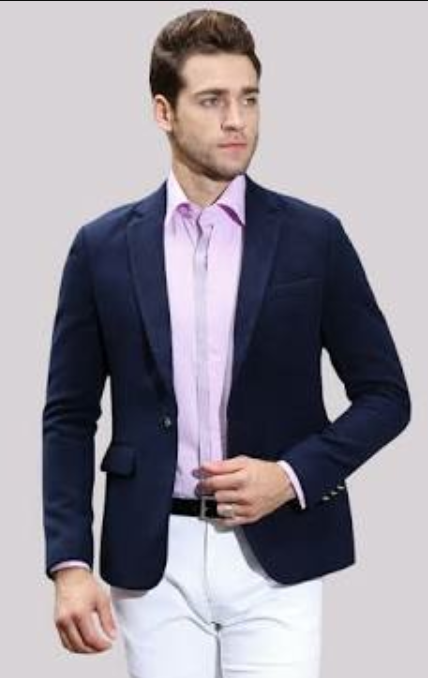 b5347bdf Can I wear a navy blue blazer for a job interview? - Quora