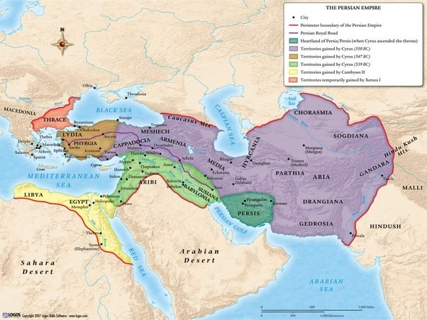 Is there a map of ancient Persian ethnicities? - Quora