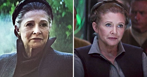 Is Princess Leia Cgi In Star Wars The Rise Of Skywalker Quora