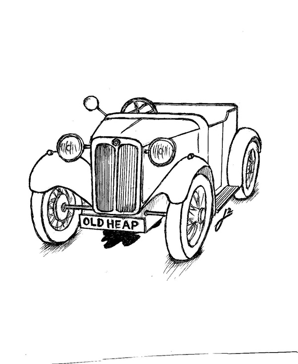 have you ever seen a car on the road that was painted with a brush 1950s Convertible Cars at the time a clever london real estate operative was advertising priceless london houses using curious but stunningly effective reverse logic and