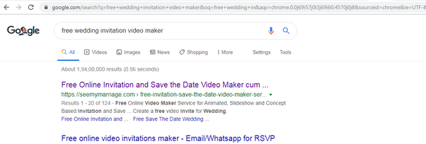 How To Make A Wedding Invitation Video For Free Quora