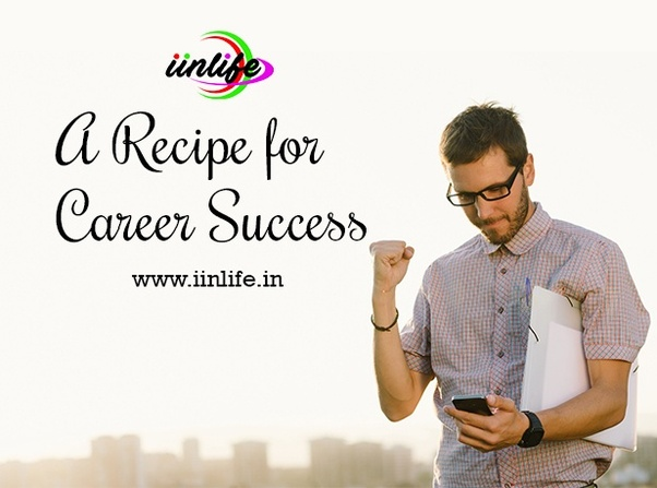 To obtain success in a career and getting a job, which