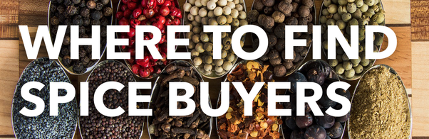 How to find buyers abroad to start a spice export business