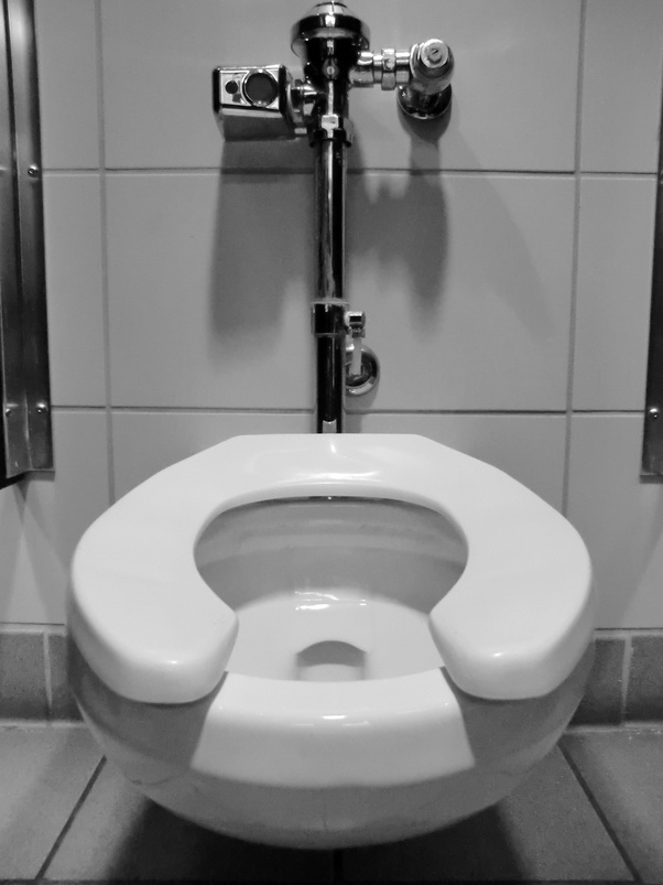 How do we get my 93-year-old dad to flush the toilet after ...