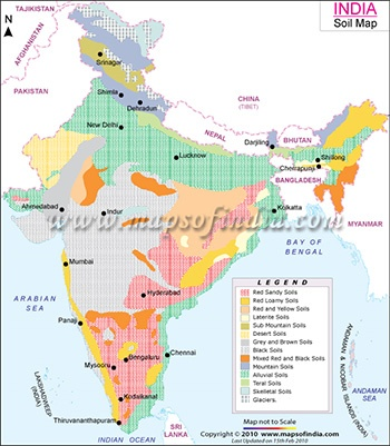 What are the soil type found in indore quora map showing black cotton soils in india thecheapjerseys Gallery