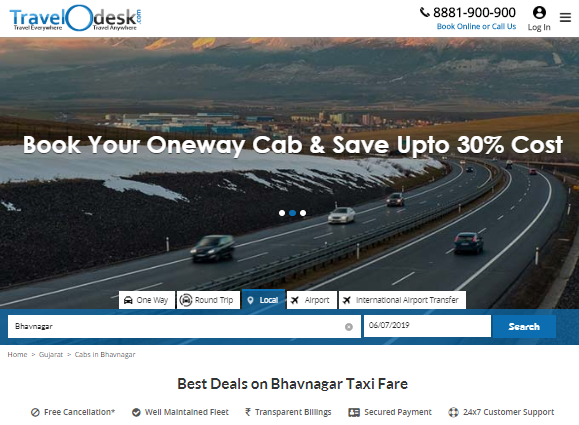 Which taxi service is available in Bhavnagar? - Quora
