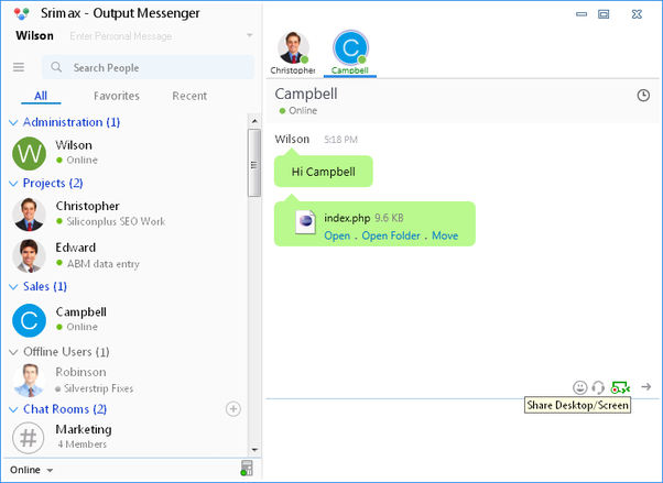 What is the lightest Instant Messaing app for windows that