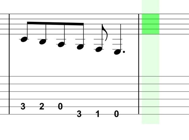On the standard tuned guitar, is there an actual linear rise in ...