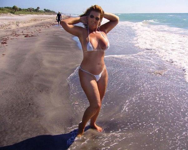Milf Beach Blowjob Amateur