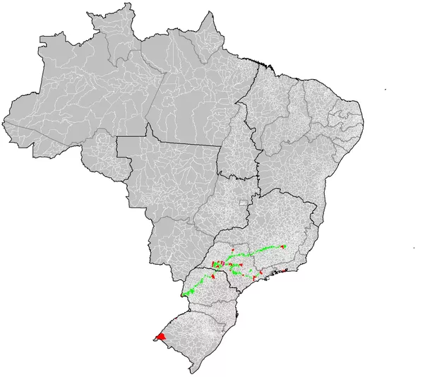 Would You Post A Map Of The Administrative Divisions Of Your - Londrina map