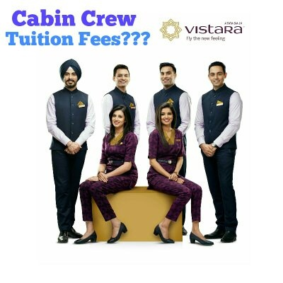 What are the training fees of the cabin crew in Vistara? - Quora