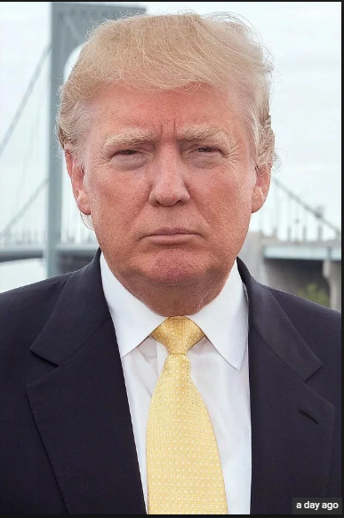 Why does Trump always look so miserably unhappy? Does he have 'resting frown  face'? - Quora