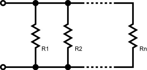 when are two resistors said to be connected in parallel