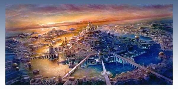 lost metropolis with atlantis story