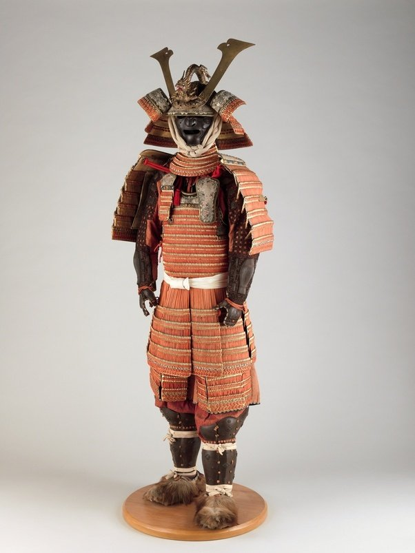 The Armor Youre Likely Thinking Of For Samurai Is Domaru This Was Certainly Most Popular Variety Becoming Common In 12th Century And