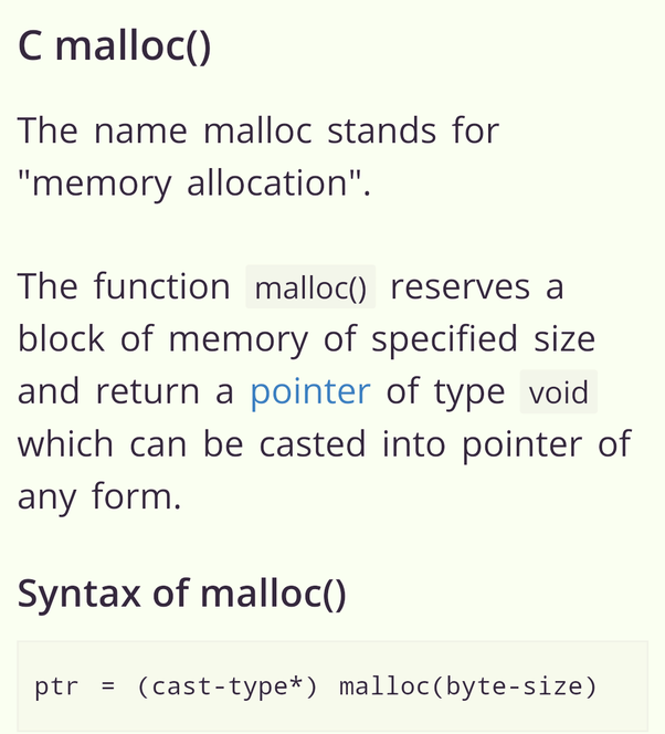 What is the use of malloc and calloc used in c? - Quora
