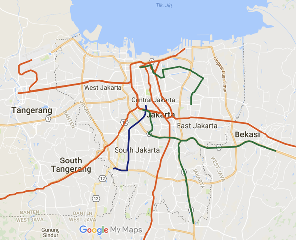 How Will Jakarta Public Transport Networks Look Like In 2020 Quora
